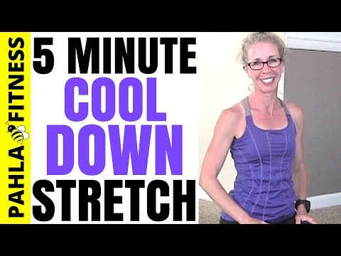 Post Workout 5 Minute FLOOR STRETCHING Routine | Mat STRETCHES to Cool Down after Workout