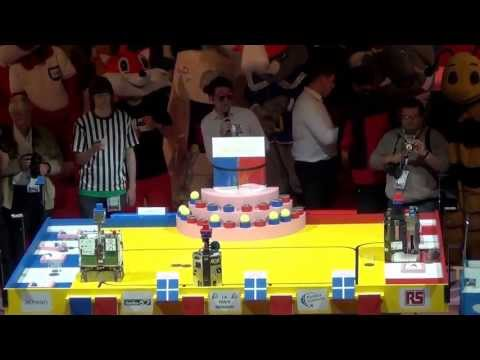 2013 - RCVA vs Oufff Team - Coupe de France de robotique 2013