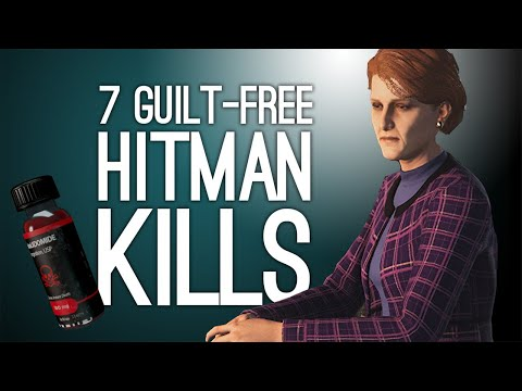 7 Guilt-Free Hitman Kills Where Someone Else Did It For You