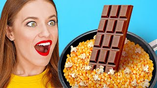INCREDIBLE FOOD HACKS || Crazy Food You Can Do With Your Food