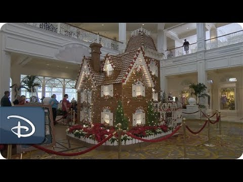 Time Lapse: Grand Floridian Ginger Bread House | Walt Disney World