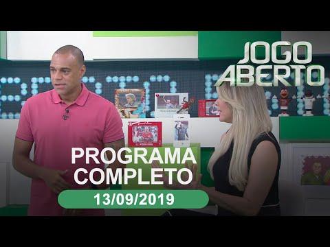 Jogo Aberto - 13/09/2019 - Programa completo