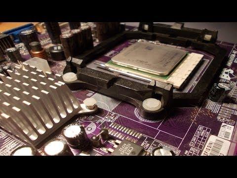 Как устанавливать процессор на материнскую плату
