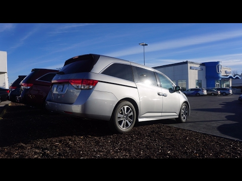 2017 Honda Odyssey Elite   Review