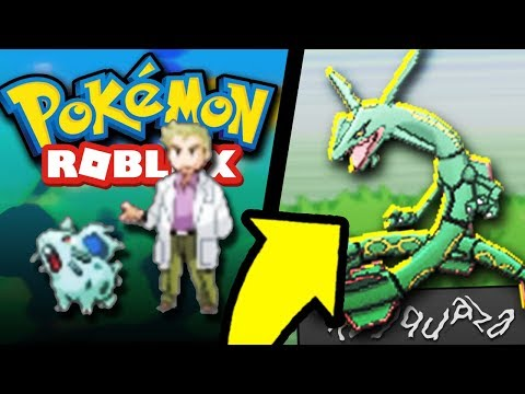 Pokemon Delta Emerald In Roblox! *Roblox Hack*