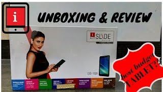 Best budget iBall Slide Tablet so far!!! [UNBOXING & REVIEW]