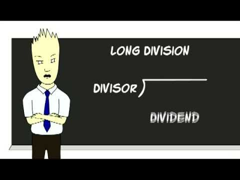 Long Division Cartoon by Mr. Duey - YouTube