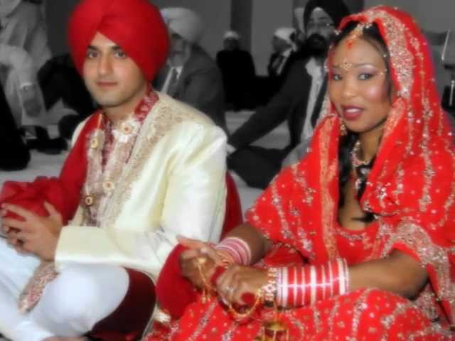 Interracial Wedding Our Weddings Day Indian Wedding Best Wedding Ever Mixedrace Couple