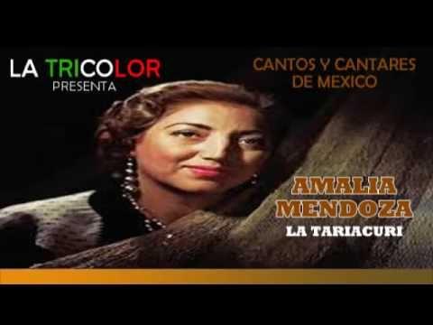 Cantos y Cantares de Amalia Mendoza