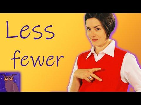 Less vs Fewer | English Grammar for Beginners | Basic English | ESL
