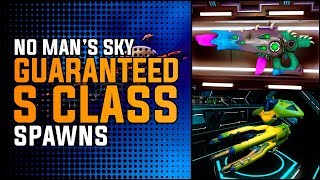 No Man's Sky Next | GUARANTEED S CLASS SPAWNS: Exotic Ship / Multitool / Freighter Location