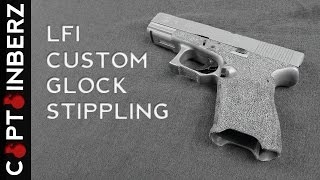 Glock Frame Modifications/Stippling by Light Fighter Innovations