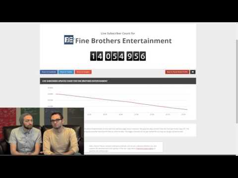Fine Bros react to losing subscribers