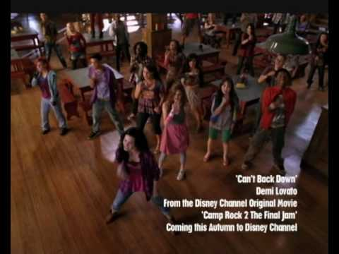 Camp Rock 2 | We Can't Back Down Music Video | Official Disney Channel UK