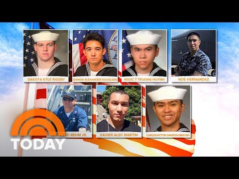 Bodies Of 7 Missing 7 US Sailors Found In Navy Destroyer Collision | TODAY
