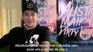 Exclusivo: ¡Austin Mahone retó a los