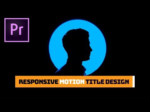 How to Create and Animate Auto-Responsive Title Templates in Adobe Premiere Pro CC | Tutorial