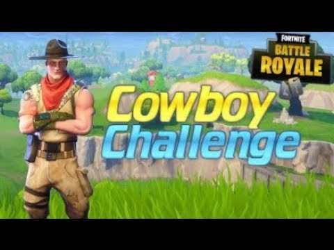 Wild west cowboy challenge win!!!! Fortnite