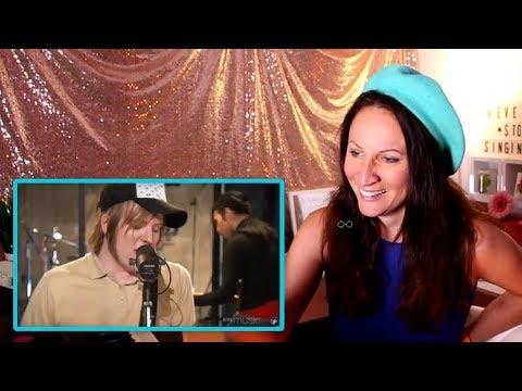 Vocal Coach REACTS to PATRICK STUMP'S- BEST LIVE VOCALS