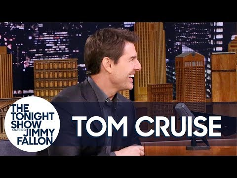 Tom Cruise Broke His Ankle on an