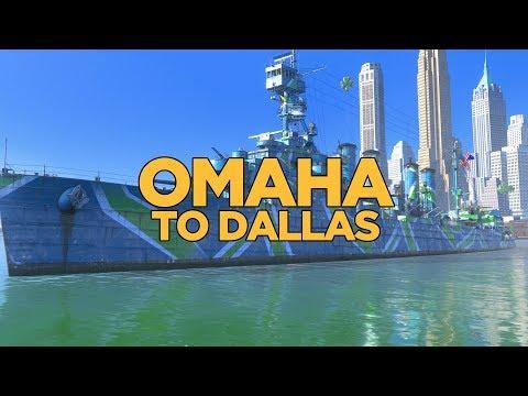 World of Warships - Omaha to Dallas