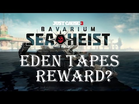 Just Cause 3 Eden Tapes | Collect All Eden Callaghan Tapes Reward