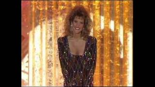 Kyle Aletter Is Miss Golden Globe - Golden Globes 1989