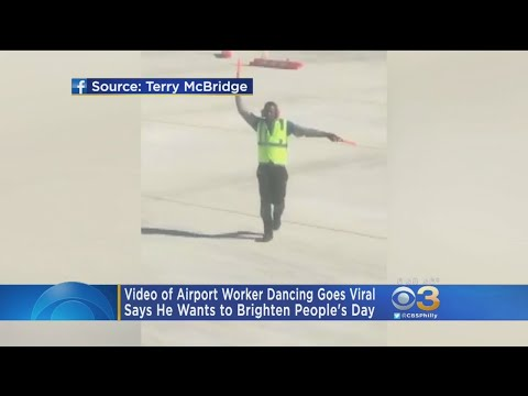 Video Of Airport Worker Dancing On Tarmac Goes Viral