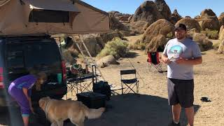 SmittyBilt 2883 Roof Top Tent Review - 5 Minute