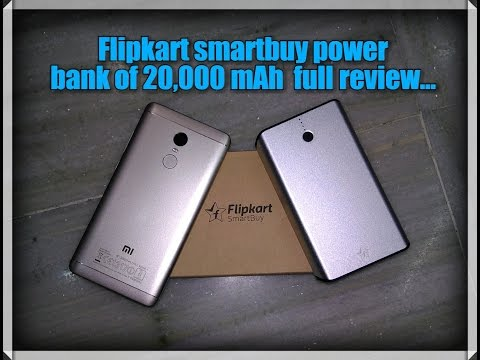 Full review and Unboxing of Flipkart smartbuy power bank with 20,000mAh battery