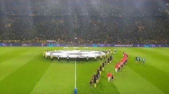 Borussia Dortmund vs. AS Monaco Champions-League 03.10.2018 - Aufstellung, Hymne, Anpfiff - Fanvideo