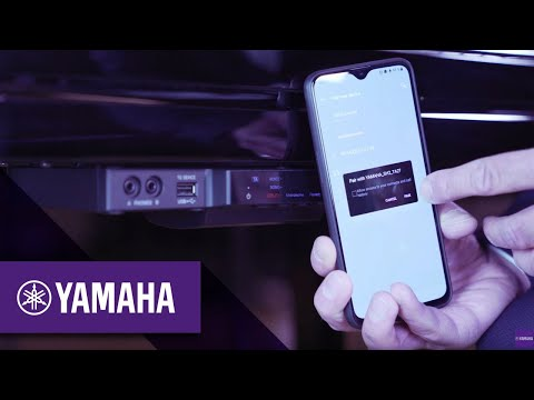 How to use Bluetooth | Silent Piano & TransAcoustic | Yamaha Music thumbnail