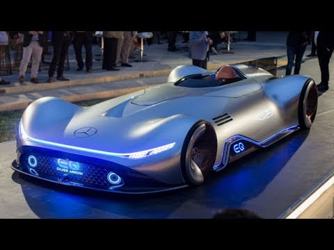 Mercedes-Benz Vision EQ Silver Arrow Concept - vision of the