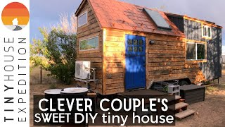 Clever Couple's Exceptional Diy Tiny House - Good Vibes!