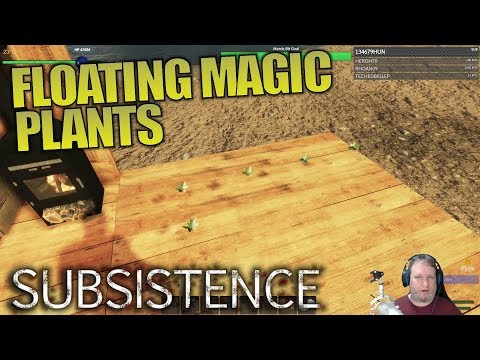 FLOATING MAGIC PLANTS | Subsistence | Let's Play Multiplayer Gameplay | S02E07