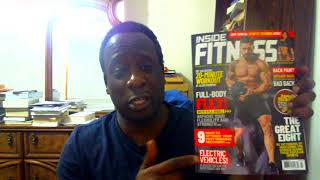 Inside Fitness Magazine Cover