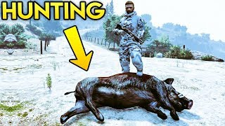 GTA Online - Hunting Freemode Events, Cop Outfit Returning & More Futuristic DLC Stuff (GTA 5 Q&A)