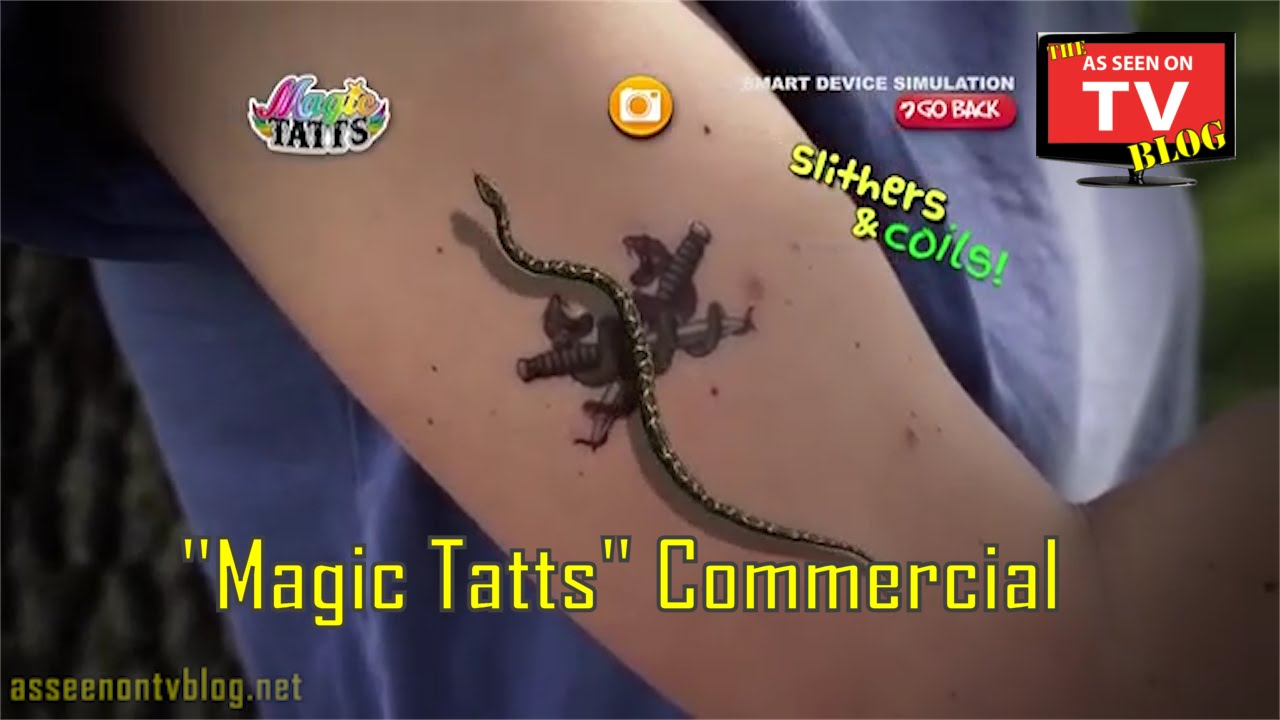 Magic Tatts As Seen On TV Commercial | Buy Magic Tatts | As Seen On ...