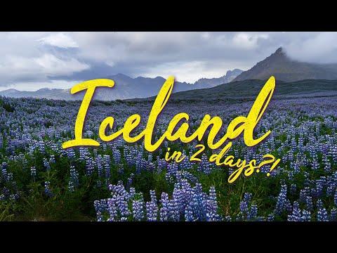 ICELAND    Do NOT underestimate its size!