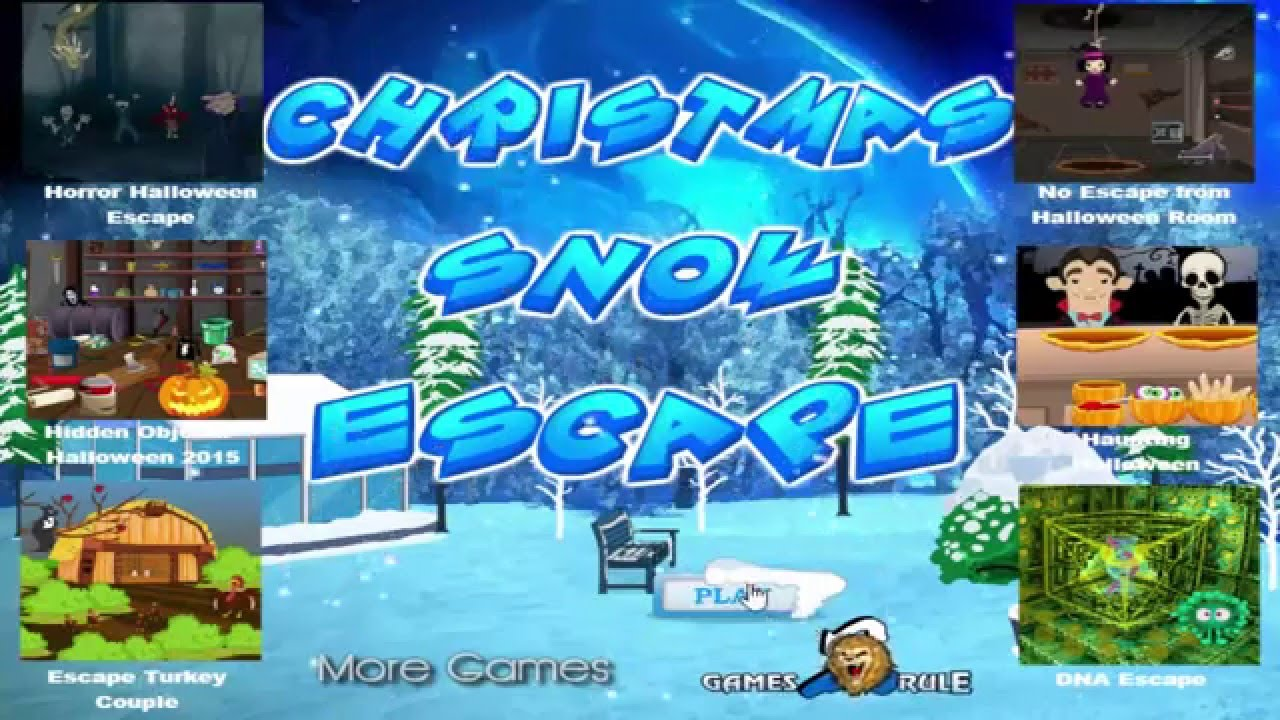 Games2rule Christmas Decorated Room Escape Walkthrough