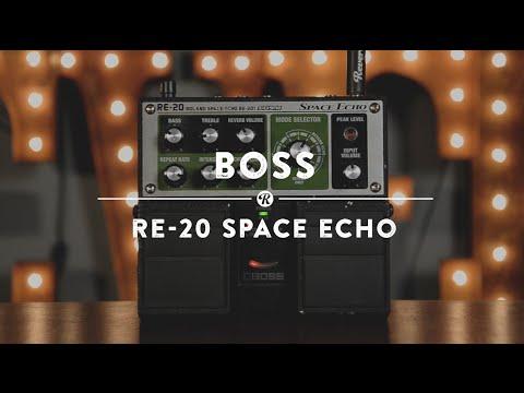 Boss RE 20 Space Echo | Reverb Demo Video