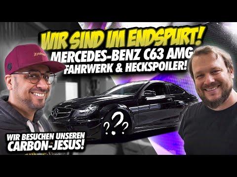JP Performance - Mercedes-Benz C63 AMG | Fahrwerk & Spoiler