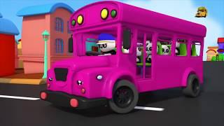 Wheels On The Bus | Nursery Rhymes | Songs For Children | Baby Songs