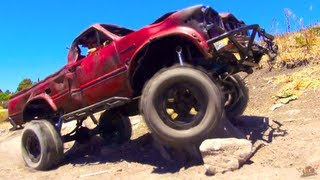 RC ADVENTURES - TOP GEAR Toyota Hilux - 4X4 RC TRUCK UNREALiSM - RC MUSiC ViDEO