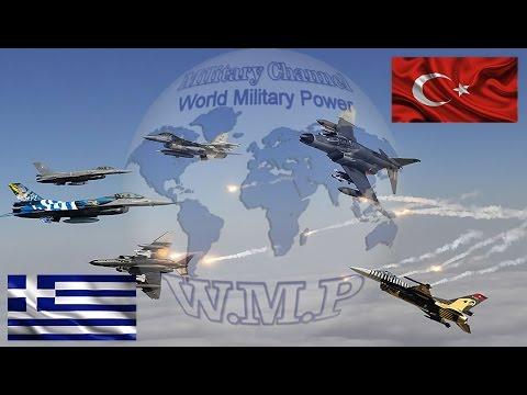 Greece VS Turkey Military Power Comparison   Turkish Army VS Hellenic Army 2016 - 2017