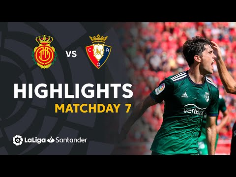 Mallorca Osasuna Goals And Highlights