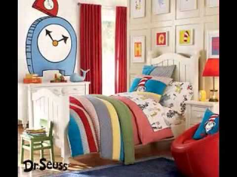 Dr seuss bedroom decorating ideas - YouTube