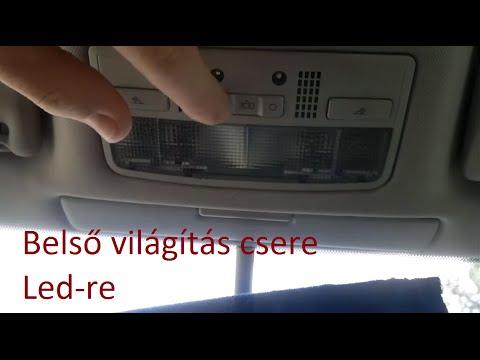 Aut 243 Belső Vil 225 G 237 T 225 S Csere Led Re Car Interior Lighting