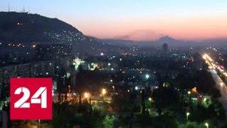 Аэропорт Дамаска оказался под огнем сил коалиции - Россия 24
