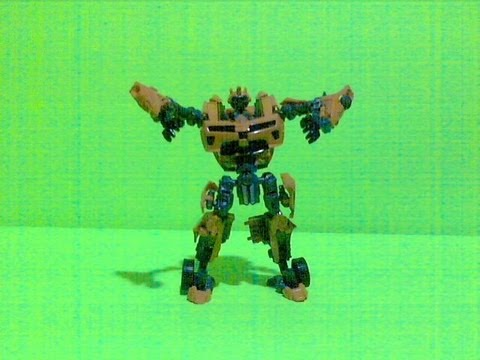 Bumblebee Dance Transformation Stop Motion Short